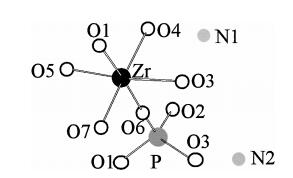 12.A novel layered zirconium phosphate [NH4](2)[Zr(OH)(3)(PO4)] synthesized through non-aqueous route