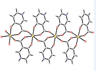 23.In Situ Ligand Synthesis for a Novel 1-D Mn Coordination Polymer